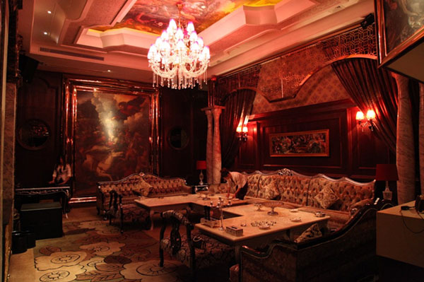 杭州最大的ktv东方魅力是杭州它是一家概念ktv酒吧